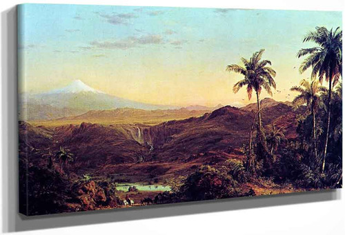 Cotopaxi2 By Frederic Edwin Church By Frederic Edwin Church
