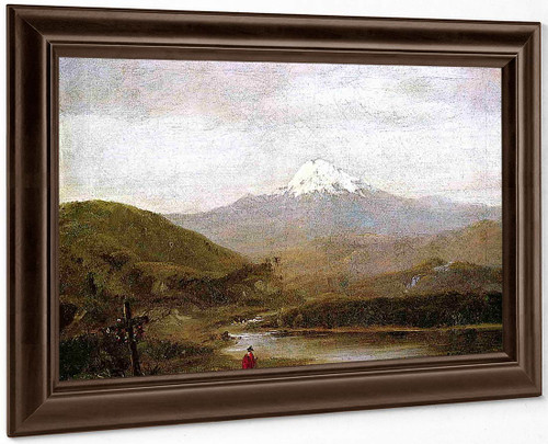 Cotopaxi By Frederic Edwin Church By Frederic Edwin Church