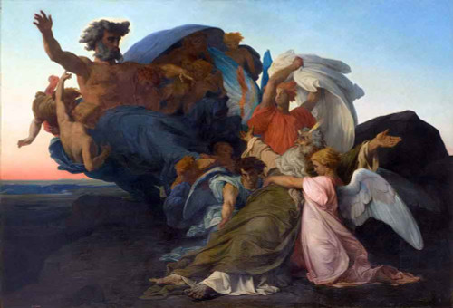 Death Of Moses1 By Alexandre Cabanel