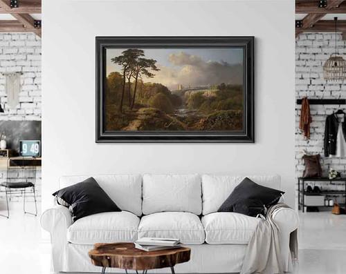 Derbyshire Landscape By Alexander Helwig Wyant