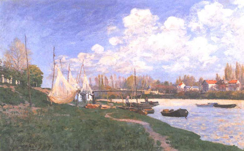Drying Nets By Alfred Sisley