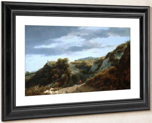 Dunes By Jacob Van Ruisdael