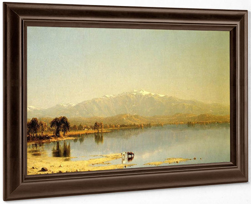 Early October In The White Mountains By Sanford Robinson Gifford