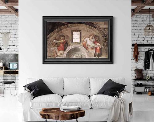 Eleazar Matthan By Michelangelo Buonarroti By Michelangelo Buonarroti
