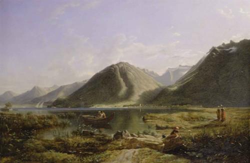 End Of Lake Geneva By Francis Danby
