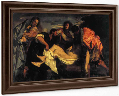 Entombment Of Christ By Titian