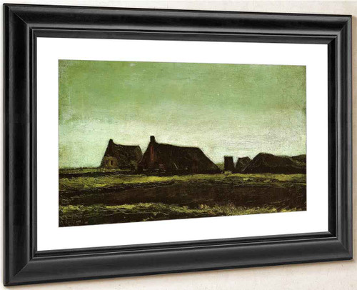 Farms By Vincent Van Gogh