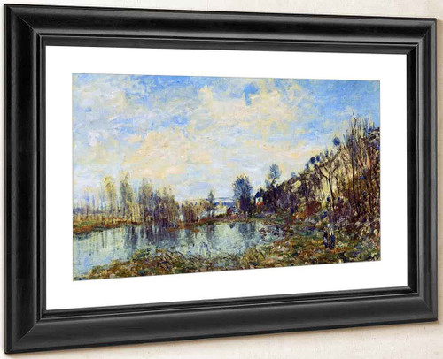 Flooded Field By Alfred Sisley