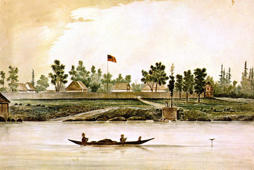 Fort Victoria By James Madison Alden By James Madison Alden