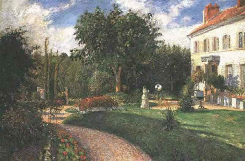 Garden Of Les Mathurins By Camille Pissarro