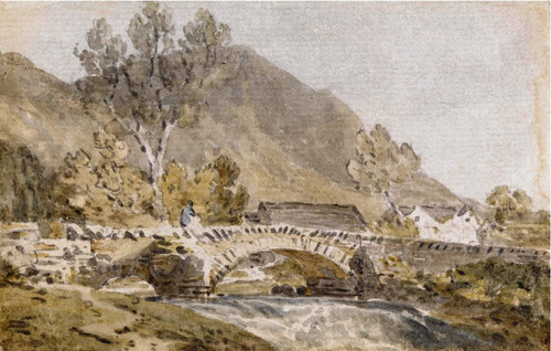 Grange Bridge, Borrowdale By Joseph Mallord William Turner