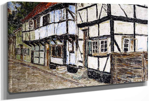 Half Timbered Houses By Christian Rohlfs