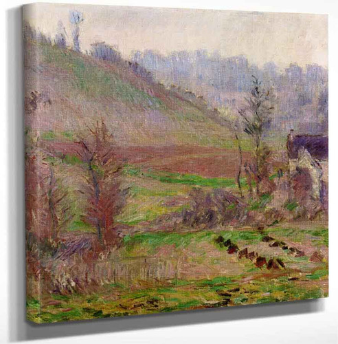 Val De Falaise By Claude Oscar Monet Art Reproduction