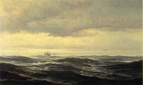 Homeward Bound By Edward Moran