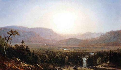 In The Catskills By Sanford Robinson Gifford