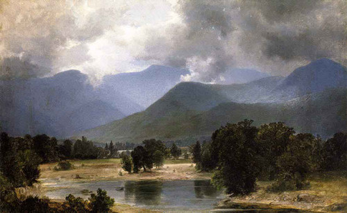 In The Keene Valley, New York By Alexander Helwig Wyant