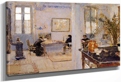 In The Room1 By Edouard Vuillard