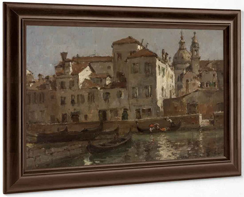 In Venice By William Merritt Chase