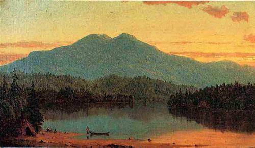 Indian Twilight By Sanford Robinson Gifford