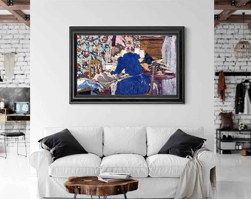 Interior By Edouard Vuillard