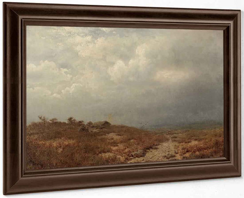 Irish Landscape By Alexander Helwig Wyant