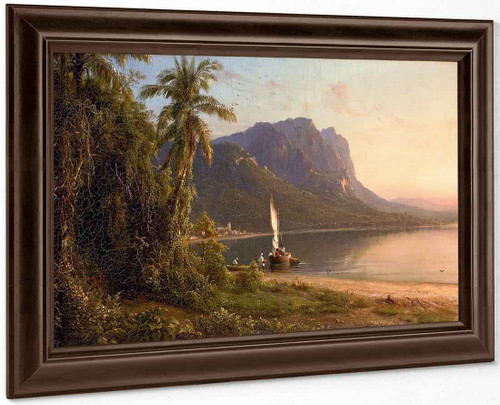 Jamaica By Frederic Edwin Church By Frederic Edwin Church