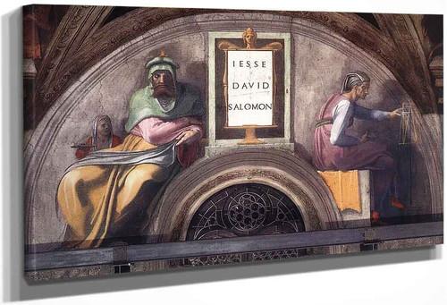 Jesse David Solomon By Michelangelo Buonarroti By Michelangelo Buonarroti