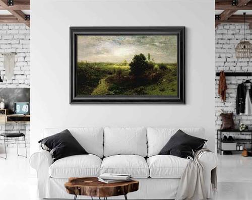 Keene Valley By Alexander Helwig Wyant