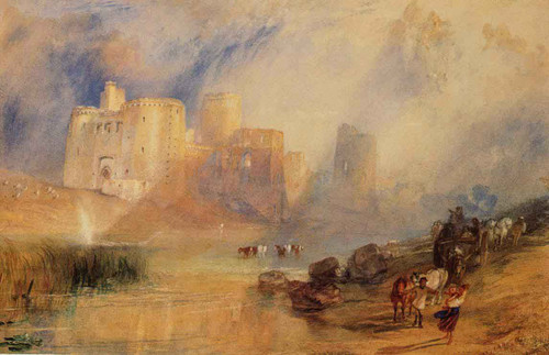 Kidwelly Castle By Joseph Mallord William Turner