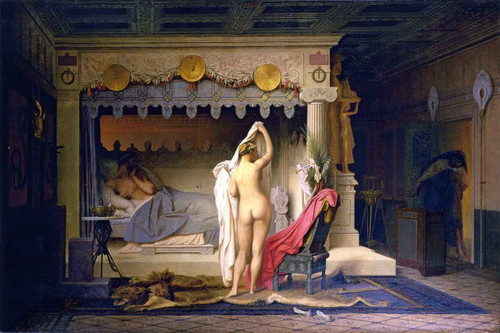 King Candaules By Jean Leon Gerome