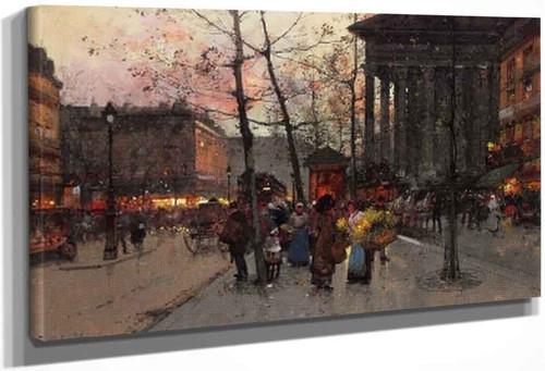 La Madeleine By Eugene Galien Laloue