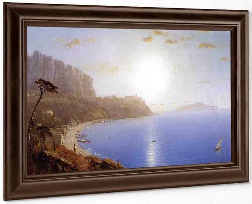 La Marina Grande, Capri 3 By Sanford Robinson Gifford