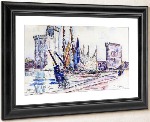 La Rochelle2 By Paul Signac