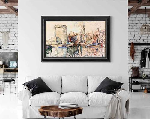 La Rochelle3 By Paul Signac