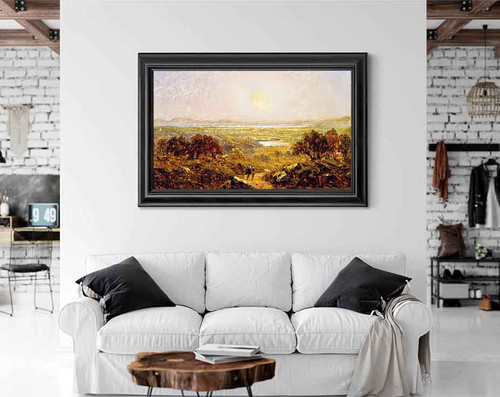 Lake Champlain By Sanford Robinson Gifford