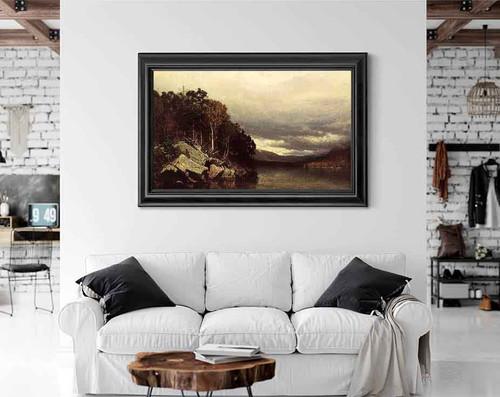 Lake George By Alexander Helwig Wyant