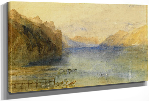 Lake Lucerne By Joseph Mallord William Turner