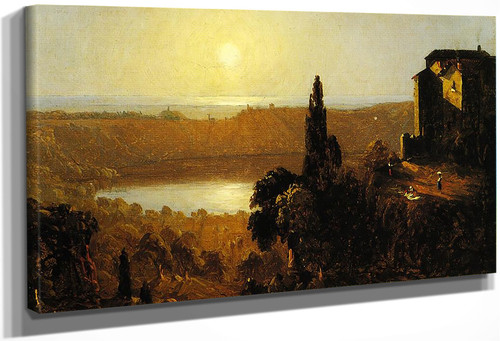 Lake Nemi By Sanford Robinson Gifford