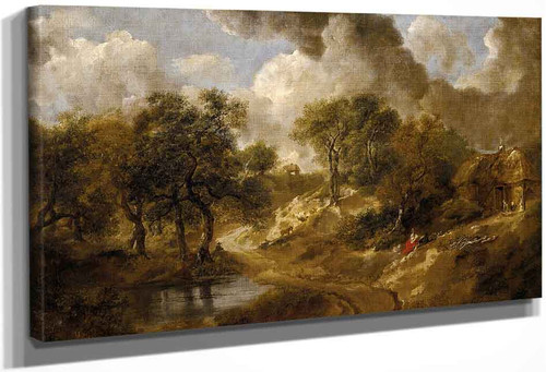 Landscape In Suffolk By Thomas Gainsborough By Thomas Gainsborough