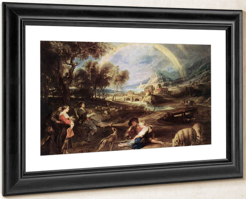Landscape With A Rainbow 2 By Peter Paul Rubens