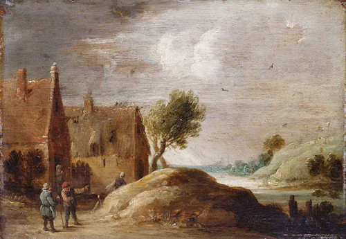 Landscape With Figures By David Teniers The Younger
