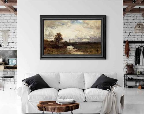 Landscape By Alexander Helwig Wyant