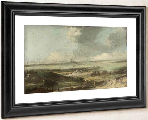 Landscape By Philips Wouwerman Dutch 1619 1668