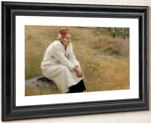 Larin Paraske By Albert Edelfelt