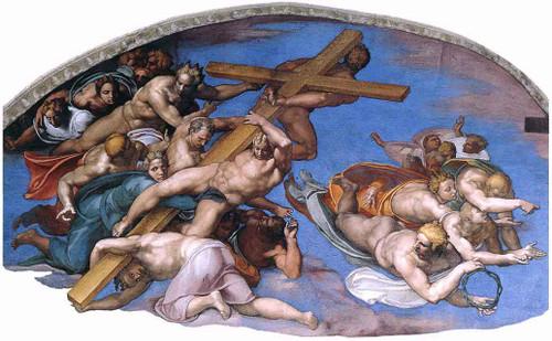 Last Judgment 16 By Michelangelo Buonarroti By Michelangelo Buonarroti