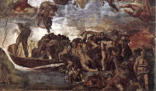 Last Judgment 19 By Michelangelo Buonarroti By Michelangelo Buonarroti