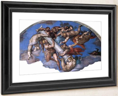 Last Judgment 20 By Michelangelo Buonarroti By Michelangelo Buonarroti