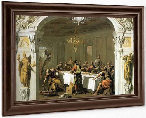 Last Supper By Sebastiano Ricci