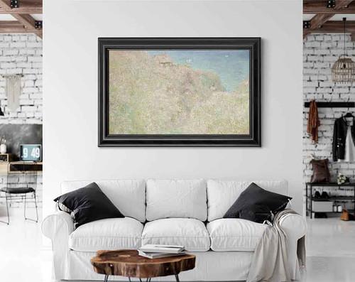 Les Falaises De Varengeville By Claude Oscar Monet