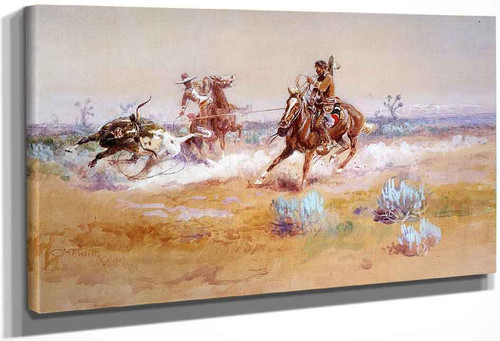 Mexico By Charles Marion Russell